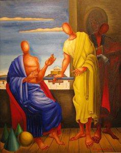 Ποιητής κ Φιλόσοφος - Εγγονόπουλος 1958 - Εθνική Πινακοθήκη