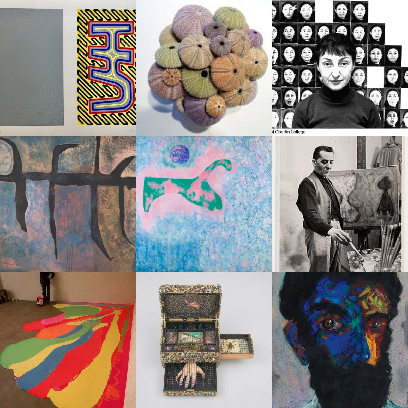 έξι ελληνοαμερικανοί καλλιτέχνες